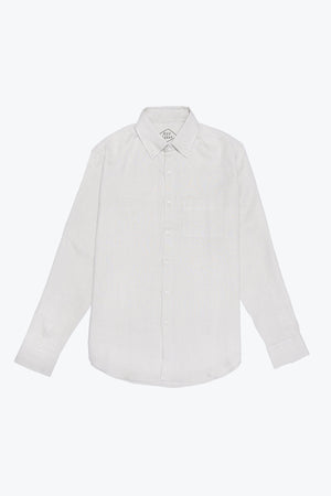 Alex Crane Playa Button Up in Bone