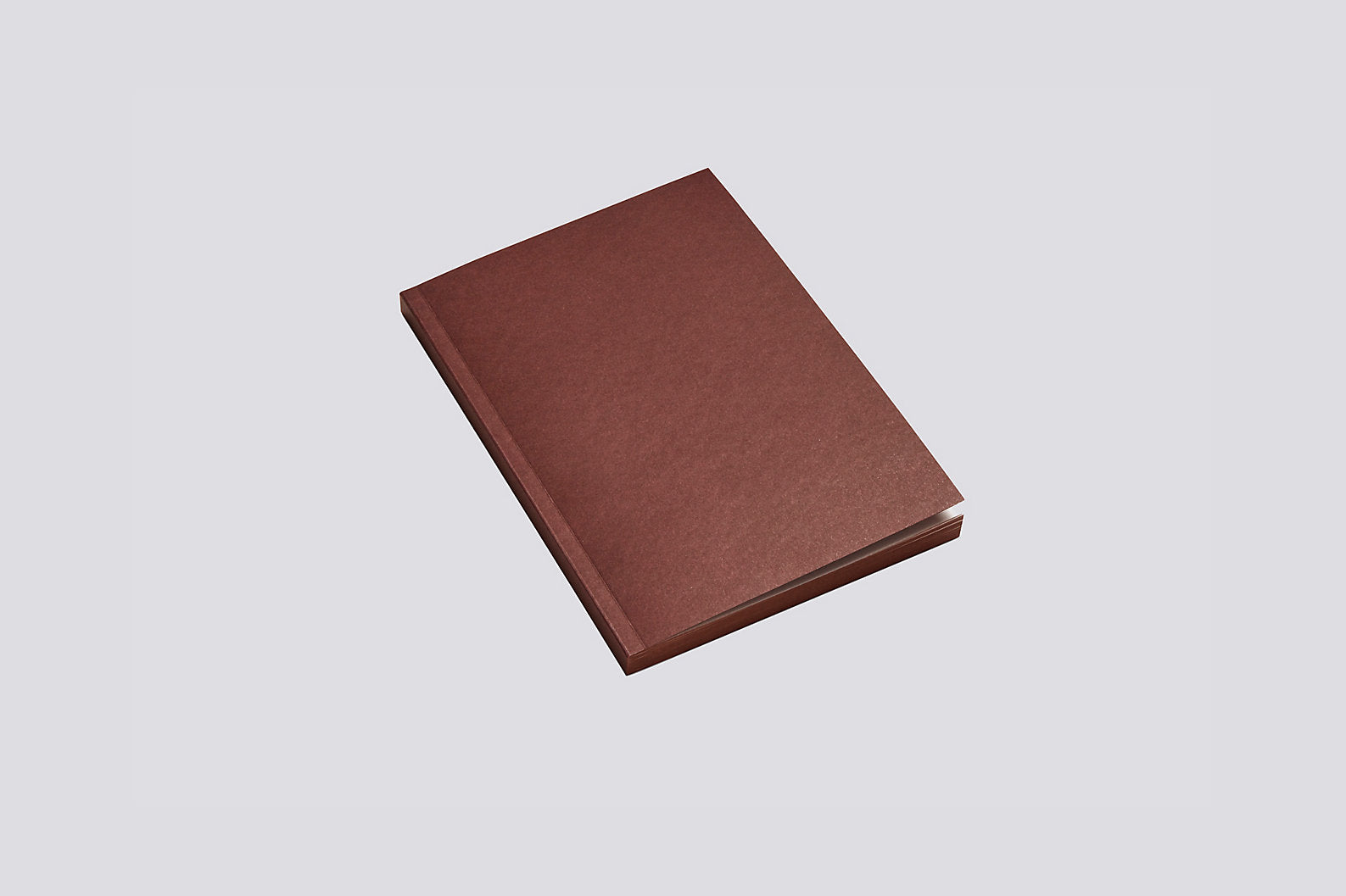 Mono Notebook in Burgundy