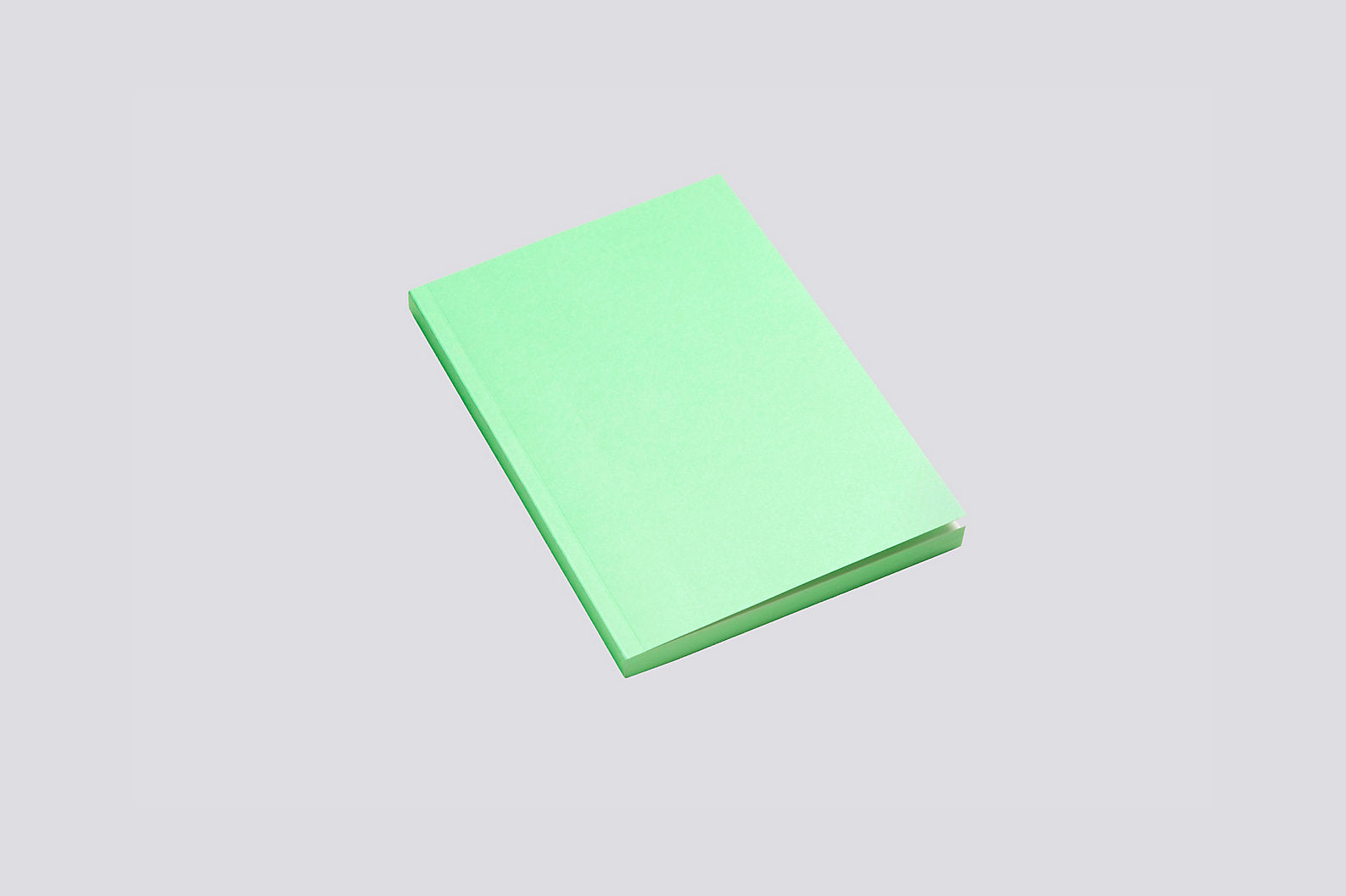 Mono Notebook in Green