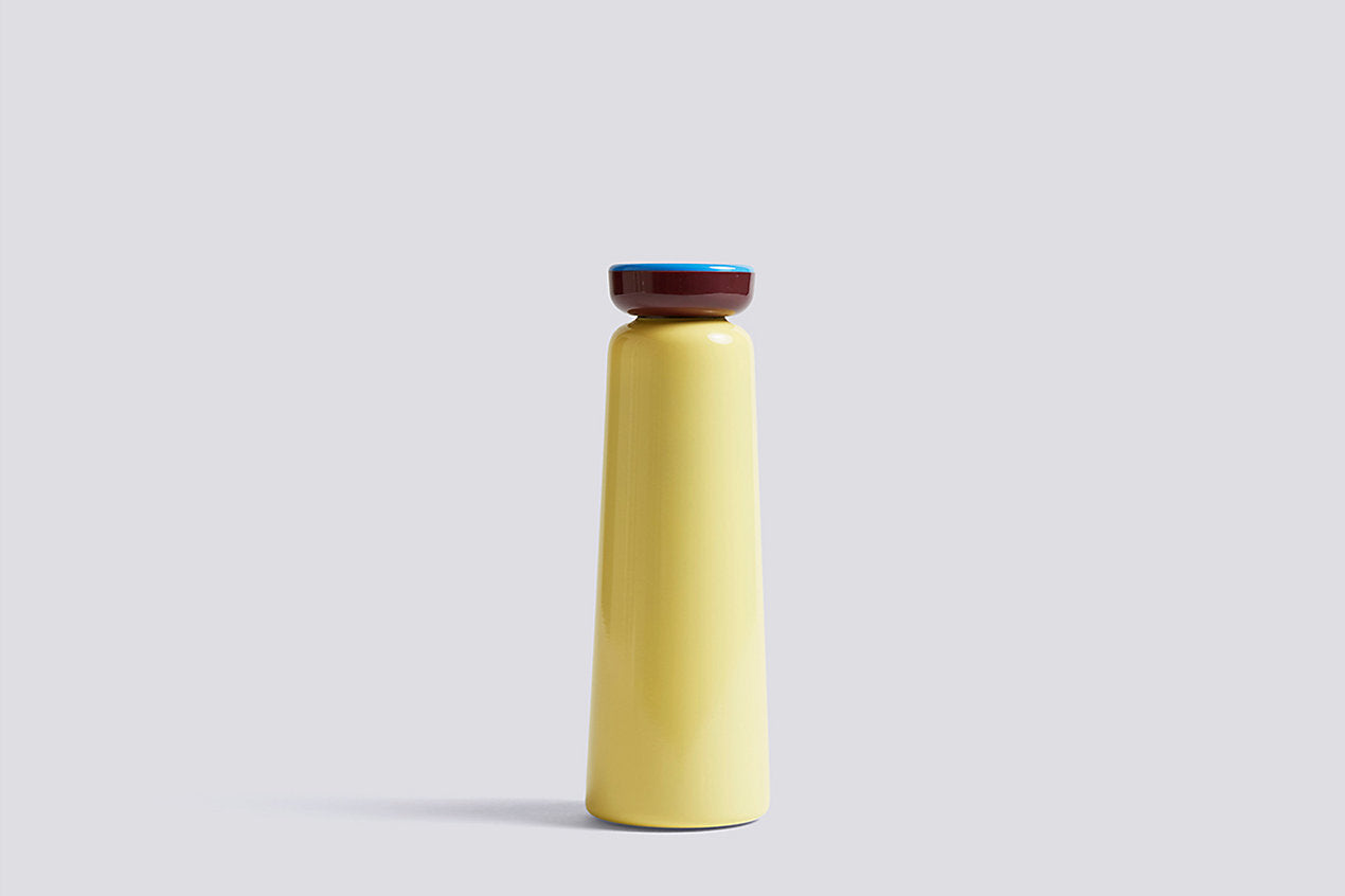 Sowden Bottle in Light Yellow