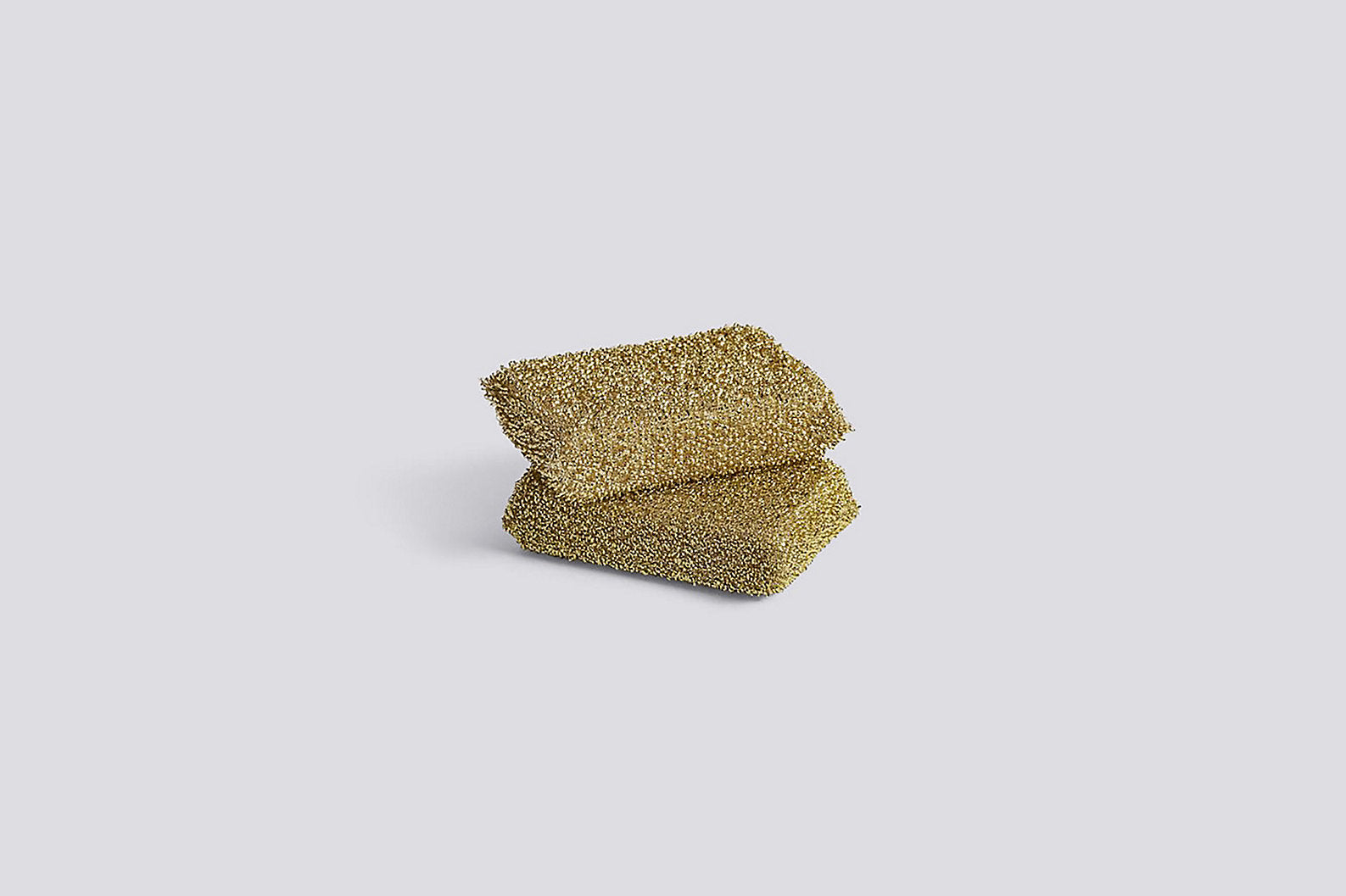 Gold Lurex Sponge, Set of 2