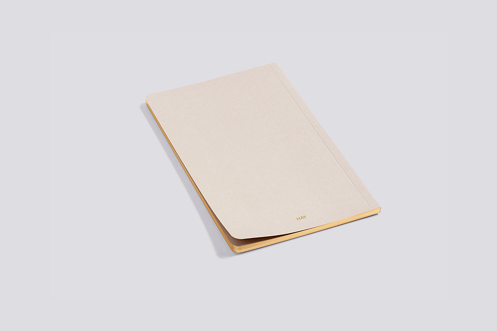Edge Notebook in Beige