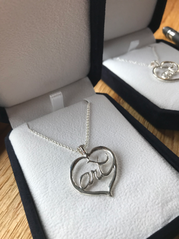 Heartology - Art in the Heart Necklace
