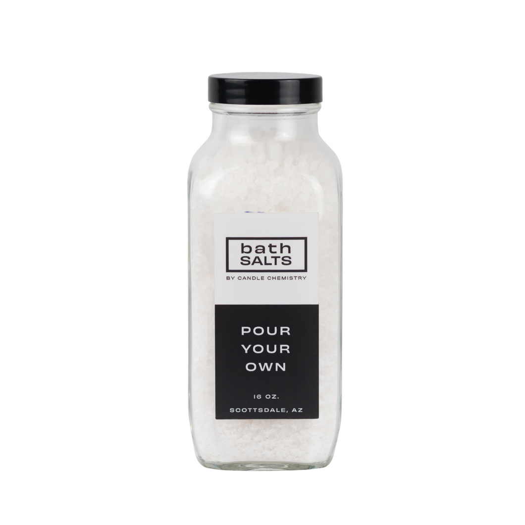 16oz Bath Salts- Pour Your Own