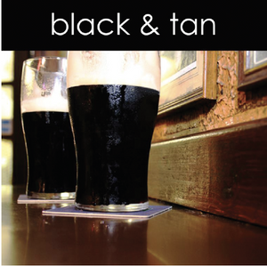 Black and Tan Candle