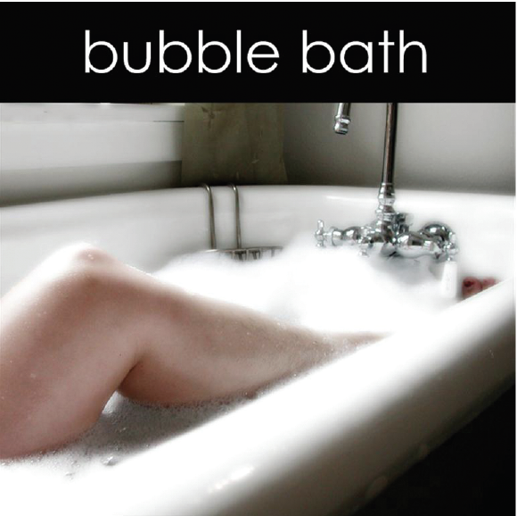 Bubble Bath Candle