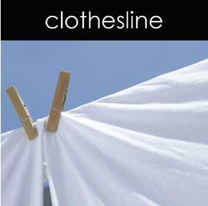Clothesline Candle