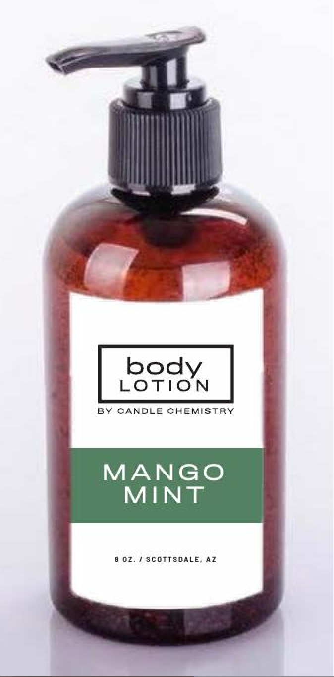 8oz Body Lotion- Mango Mint