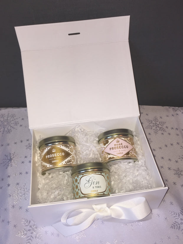 3 Scented Candles Gift Box