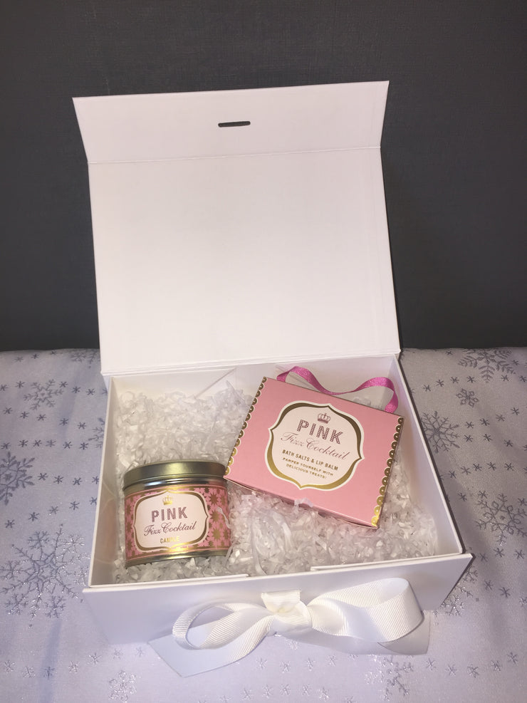 Pink Fizz Cocktail Gift Box