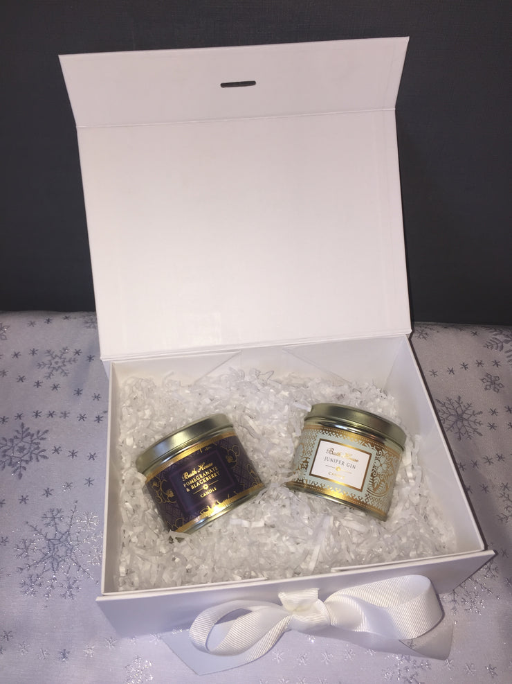 2 Scented Candles Gift Box