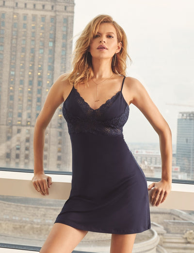 Vanilla night & day Navy Chemise