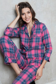 Cottonreal Bude Check Pyjamas