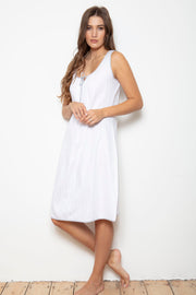 Cottonreal Shadow Stripe Nightdress