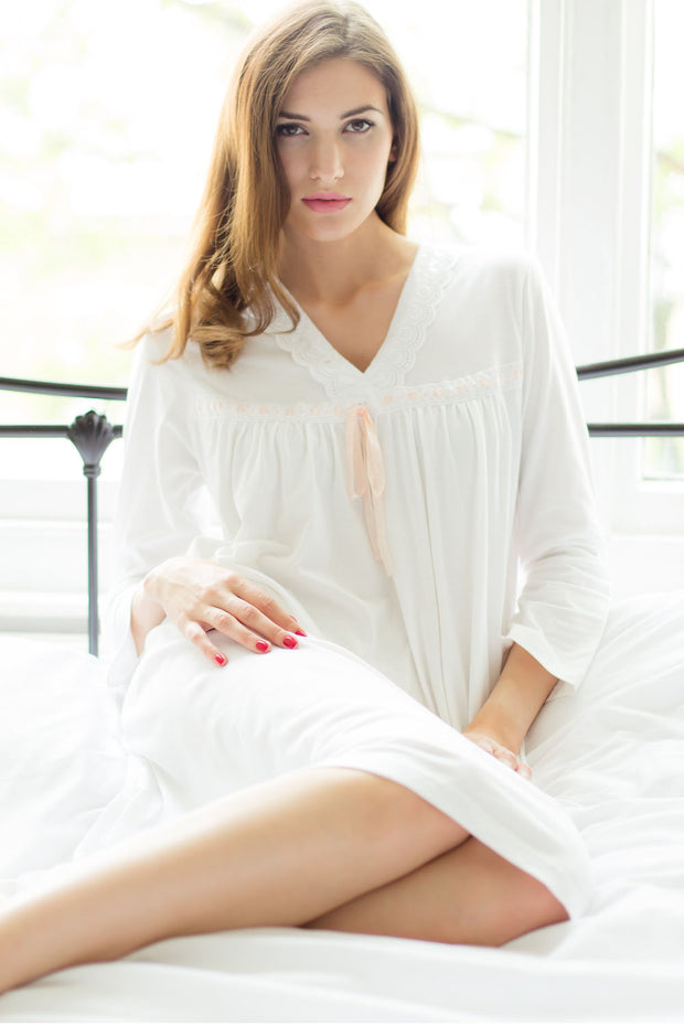 Cottonreal Tammy 3/4 Sleeve Nightdress
