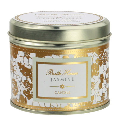 Bath House Jasmine Scented Candle