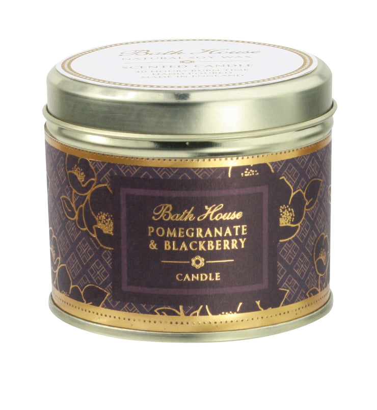 Bath House Pomegranate & Blackberry Scented Candle