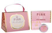 Bath House Pink Fizz Cocktail Handbag Gift Treat