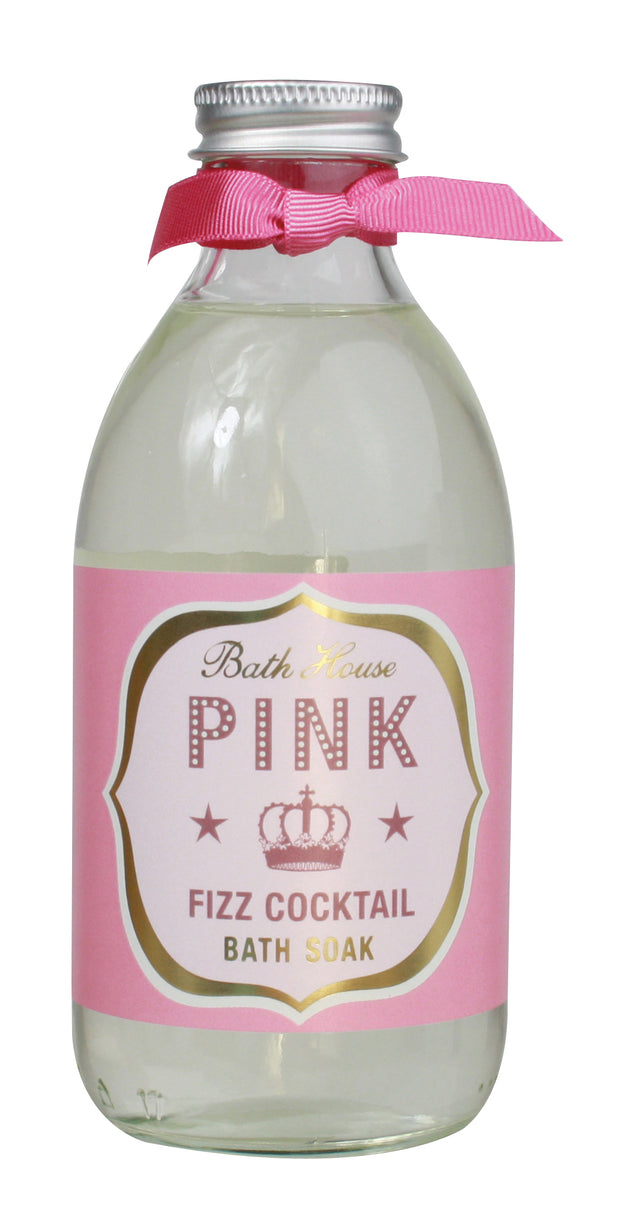 Bath House Pink Fizz Cocktail Bath Soak 250ml