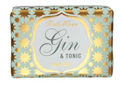 Bath House Gin & Tonic Soap Bar 100g