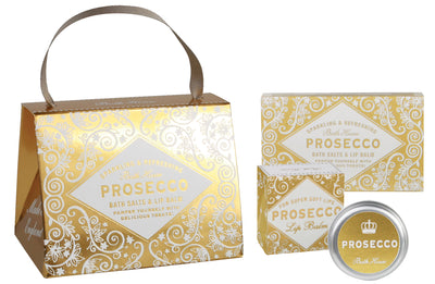 Bath House Prosecco Handbag Gift Treat