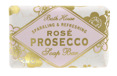 Bath House Rose Prosecco Soap Bar 100g