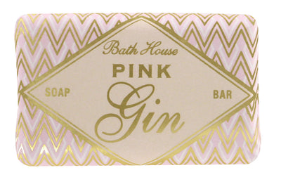 Bath House Pink Gin Soap Bar 100g