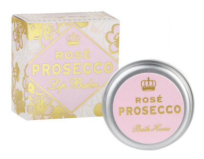 Bath House Rose Prosecco Lip Balm 15g