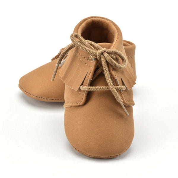 Fringe Baby Shoes Unisex Warm Tassel Soft Sole Shoes