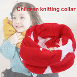Cotton Baby Scarf Knitted Wool O-Scarves