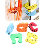 4pcs Child Baby Safety Cartoon Animal Edge/ Door Stopper