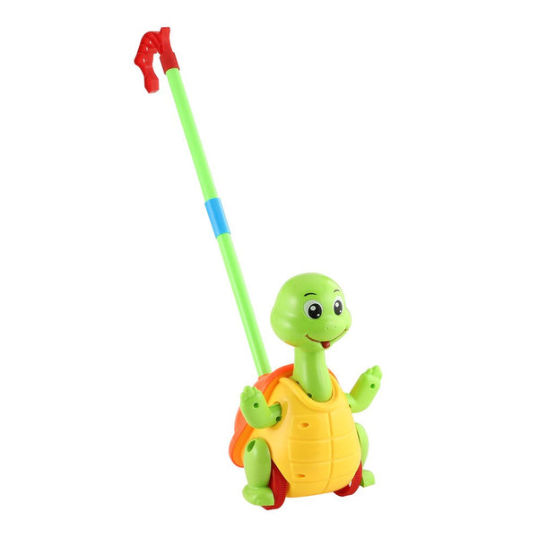 Cute Hand Push Animal Toys Turtle Shaped Cartoon