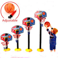 Adjustable Basketball Backboard Stand Hoop Ring