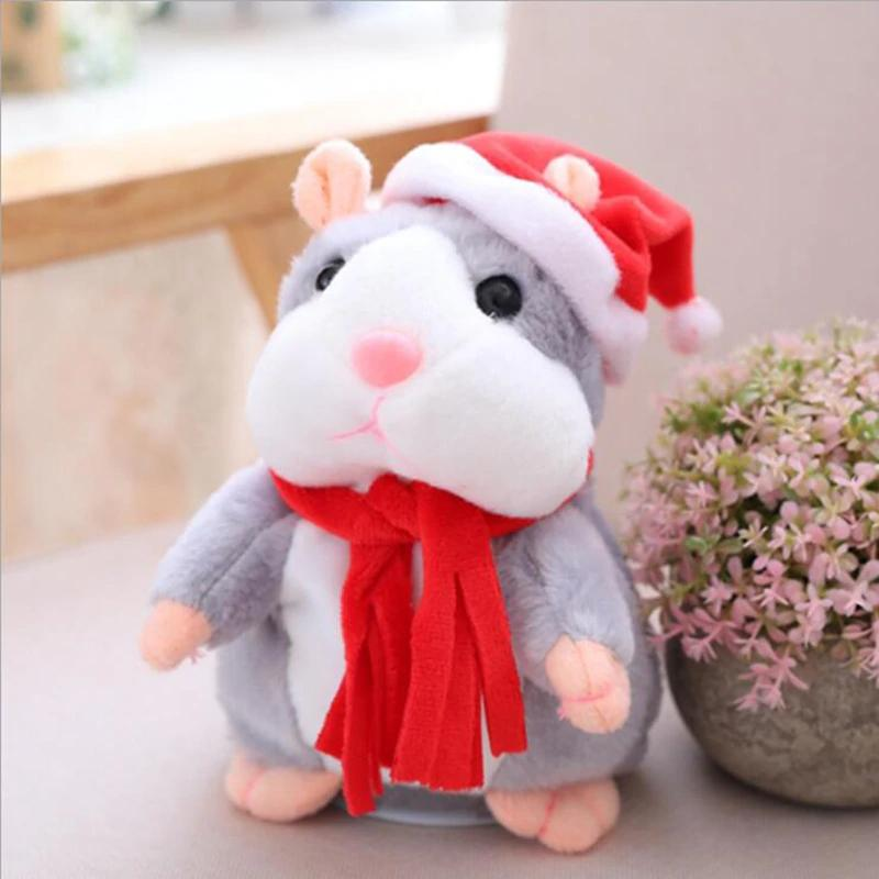 Cute Repeating Talking Plush Hamster - Babies Blessingz