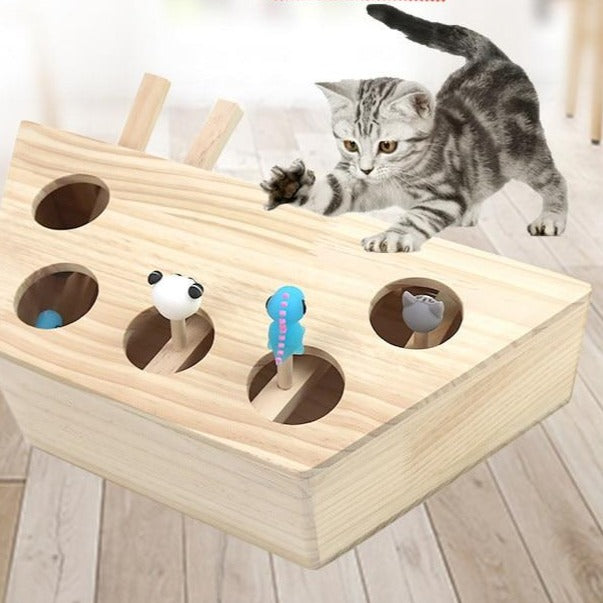 Blessingz Whac-A-Mole for Cats - Babies Blessingz