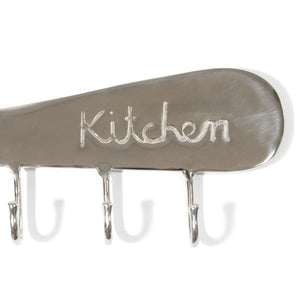 Antique Aluminum Kitchen Knife Wall Hook | Wall Mount Utility Hook (DH8013)