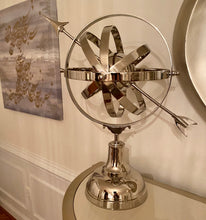 Load image into Gallery viewer, Aluminum Decorative Armillary Accent | Home Decor Sculpture (DH4032)