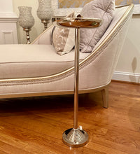 Load image into Gallery viewer, Tall Silver Aluminum Ashtray On Stand | Floor Standing Ashtray (DH10004)