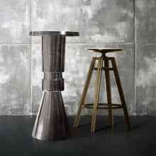 Load image into Gallery viewer, Modern Round  Aluminum Bar and Pub Table |  Metal Bar Table (DH8037)
