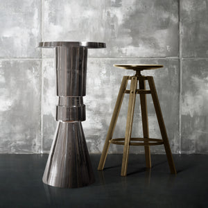 Modern Round  Aluminum Bar and Pub Table |  Metal Bar Table (DH8037)