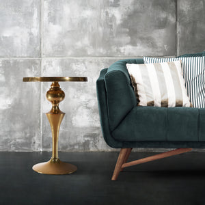 Decorative Aluminum Sofa Side Table | Metal End Table | Home Decor (DH8032)