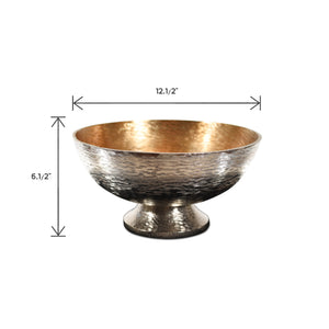 Aluminum Centerpiece Bowls For Tables | Home Accent Bowl  (DH1021C)