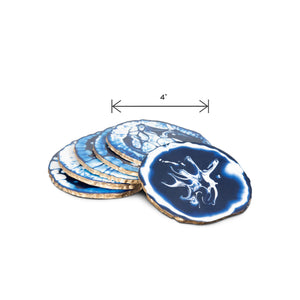 Modern Round Resin Ivory Coaster | Coasters for Dining Table | Cup Coaster (DH9003)