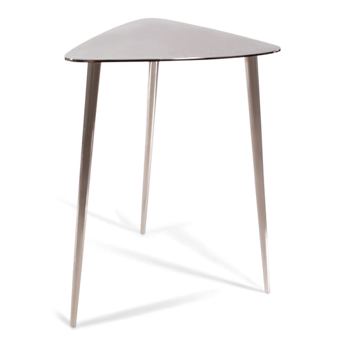 Molten Aluminum Triangle End Side Table |  Nesting End Table | Coffee Table (DH8006)
