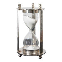 Load image into Gallery viewer, Decorative Aluminum and Brass Hourglass Sand Timer | Hourglass Clock (DH4033)