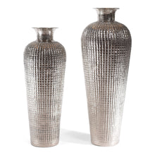 Load image into Gallery viewer, Decorative Aluminum Tall Floor Vase | Metal Floor Vase Decor (DH3037)