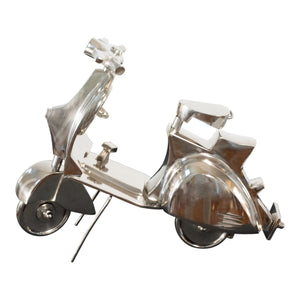 Aluminum Decorative Scooter Accent | Sculptures Home Decor (DH4037)