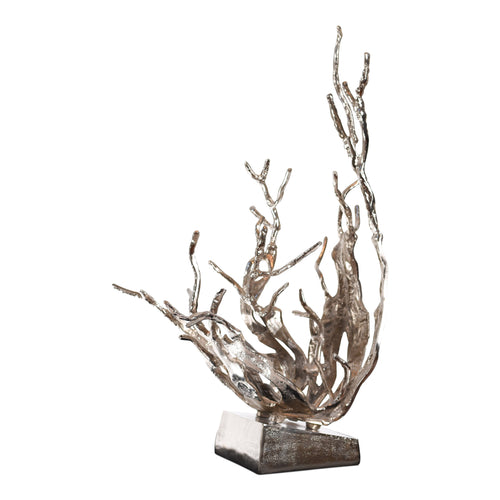 Aluminum Decorative Fluidity Sculpture Tree | Stylish Sculpture (DH4022)
