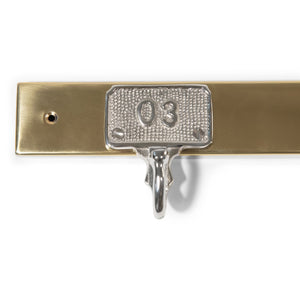 Stainless Steel and Aluminum Wall Hook | Wall Hook Hanger (DH8024)