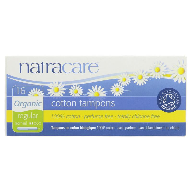 Natracare Organic Applicator Tampon